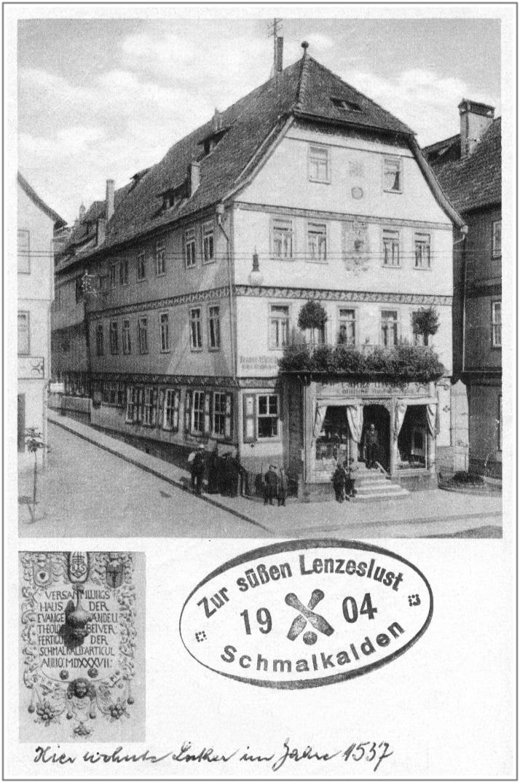 BildKarussell-Lutherhaus,Postkarte,1928